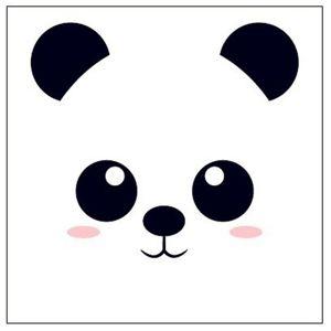 Dekorační Polštář Panda, 40/40cm