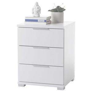 Noční stolek Bílá Výška 61cm